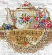Treasured Friend Teapot - Dimensions