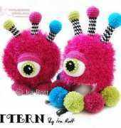 Ira Rott- Neon The GumBall Monster Hat and Toy Set