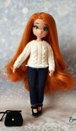 Ecem Design (Elena Akkoca) - KnittLife - Sweater (knit) for the doll Diana