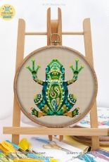 Awesome Pattern Studio 207 - Mandala Frog