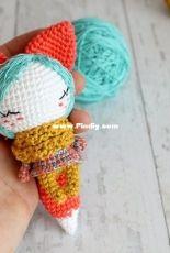 Crochet Confetti Shop - Irina Moilova - Little fox girl