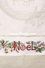 Les Brodeuses Parisiennes - TRN/TEN - Torchon Rêve de Noel