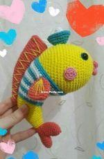 Natura crochet - Goldfish