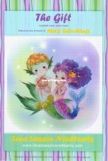 Lena Lawson Needlearts MSW-51 - The Gift - Mermaids