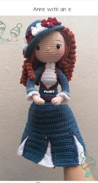 Amigurumi Studio and Boutique Gael and Pau - Anne with an E - Spanish