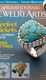 Lapidary Journal Jewelry Artist - January-February 2021 Vol 75 Issue 1