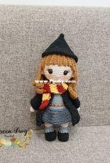Green Frog Crochet -Thuy Anh - Hermione Granger