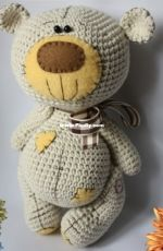 Crochet mania Q boutique - Zana Survila - Bear Crochet Friend - Spanish - Translated