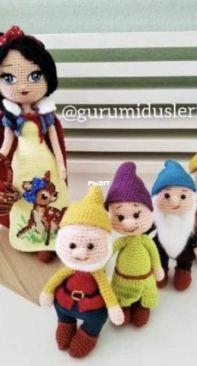 Gurumidusleri - Snow White and the 7 Dwarfs - Pamuk Prenses ve 7 cüceler - Turkish