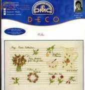 DMC Deco BK008 - Rose Note - Kazuko Aoki