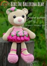 Smartapple creations- Maarja Harsing Vark- Bibi the Ballerina Bear