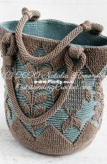 Outstanding crochet - Natalia Kononova - Corfu bag -Russian