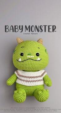 Conngauu Handmade - Van Anh - Baby Monster
