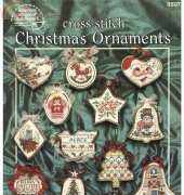 American School of Needlework ASN 3507 Cross Stitch Christmas Ornaments