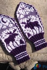 Moose Mittens by Brian Nelson -Free