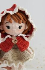 Green Frog Crochet - Thuy Anh -  Little Red Riding Hood