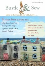 Bustle & Sew Issue 19 - August 2012