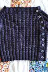 Tadpole's Purple Sweater by Tinks and Frogs Rue/ tinksandfrogs-Free