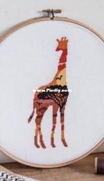 Velvet Pony Design - Giraffe Silhouette