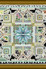 Chatelaine Designs Onl 155 - The Tinctorium Garden Mandala