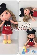 Minnie mouse doll