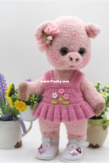 Pig Masha - Tatyana Belousova - knitting pattern - russian