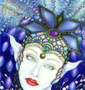 HAED LUSK015QS Starlight Fairy by Bernadette Lusk