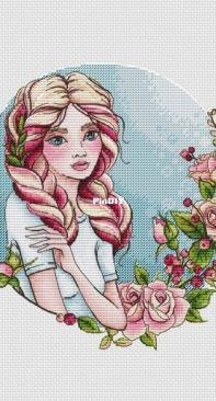 Magic Stitch - Rose (Rozovaya) by Nadezhda Nagornaya / nezhenka.nadin