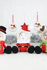 Tanati crochet - Tatyana/Tatiana Kucherovska - Mini Photo Frames Christmas Collection - Dutch