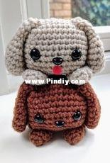Crafty Bunny Bun- Cube Puppy Dog - Free