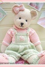 Mary Jane's Tearoom-Candy Bear by Susan Hickson