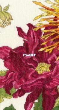 Bothy Threads XBD11 Dahlia Blooms