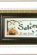Plum Pudding Needleart PPN157 Salem Inn