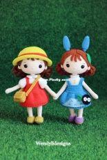 Wendy Li Designs - Mei and Totoro girl