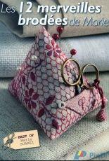 Les Editions De Saxe-Les 12 Merveilles Brodées de Marie Suarez