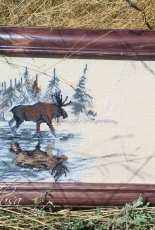 Elk by Alisa Okneas