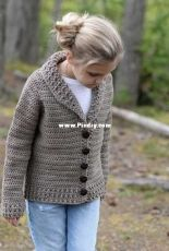 Keldyn Cardigan by Heidi May / The Velvet Acorn