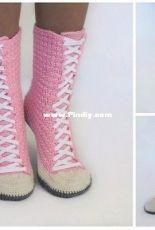 Lea Leem - Natalia - Sneaker Boots or Sneakers