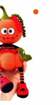 cozypuppet - Pumpkin Jack Pattern - - Russian