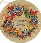 Dimensions 08413 - Forest Birds Wreath