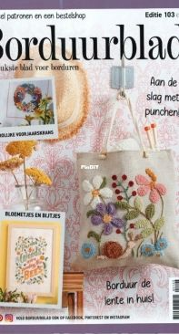 Borduurblad 103 2021 NL