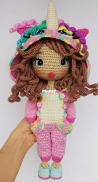 Crochet Pattern World - Outfit for Astrid - English