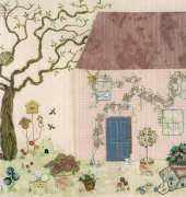 The Embroidered Village Bag by Carolyn Pearce