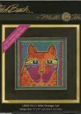 Mill Hill LB30-5111 Laurel Burch Wild Orange Cat