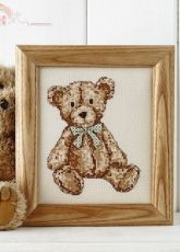 Vintage Teddy by Angela Poole from Cross Stitch Collection 239