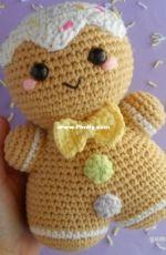 Yum Yarn - Gingerbread Man - Free