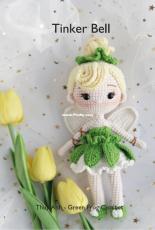 Green Frog Crochet - Thuy Anh -  Tinker Bell