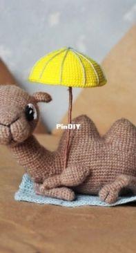 Fox and Dog Patterns - Olga Krylova - Camel - Russian