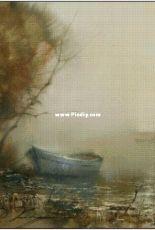Bozenka 1001 - Fog on the lake