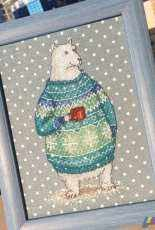 Animals in Sweaters - Polar Bear by Ekaterina Gafenko and Mila Vozhd